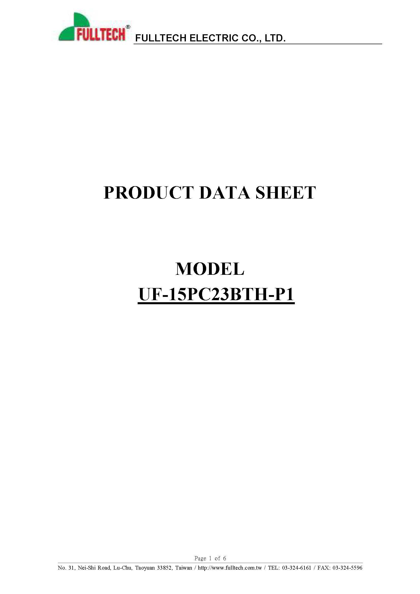15PC23BTH-P1 Data sheet_페이지_1.jpg